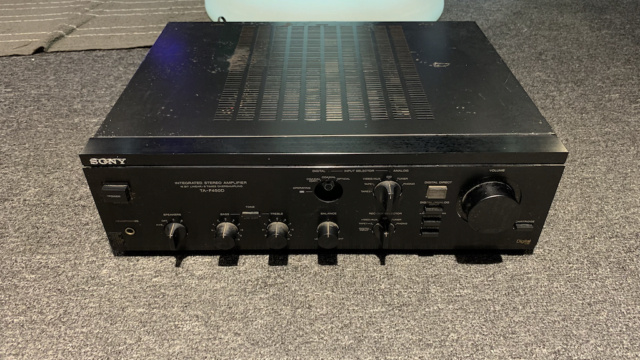 Sony TA-F 450D Digital Stereo Amplifier Made in Japan (Used) Img_2220
