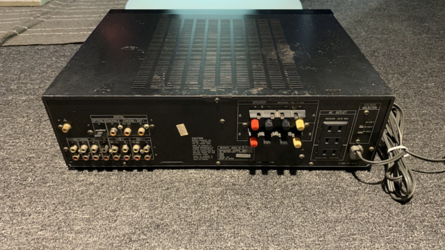 Sony TA-F 450D Digital Stereo Amplifier Made in Japan (Used) Img_2221