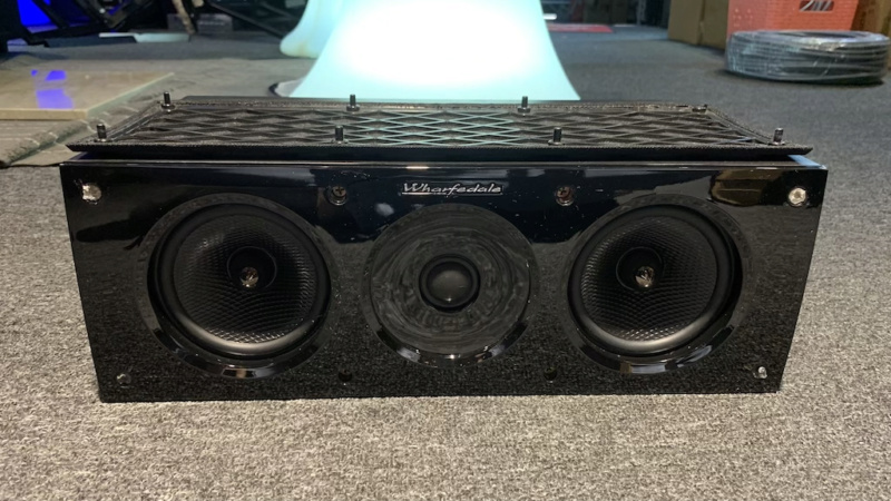 Wharfedale Obsidian Centre Speaker (used) Img_2311