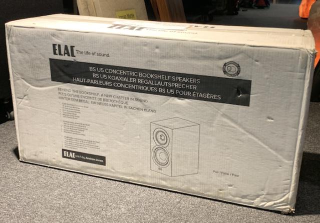 ELAC BS U5 Uni-Fi Slim Bookshelf Speakers (Used) Img_2334