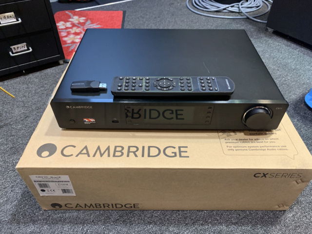 Cambridge Audio CXN (V2) Series 1 Network Audio Streamer Player (Used) SOLD Img_2515