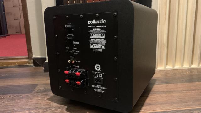 """Polk Audio PSW 111 8"""" 300 Watt Active Subwoofer (Used) Img_2612"""