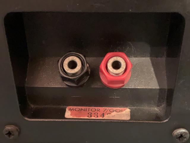 Monitor Audio Monitor Gold 7 Bookshelf Speaker (Sold) Img_2913