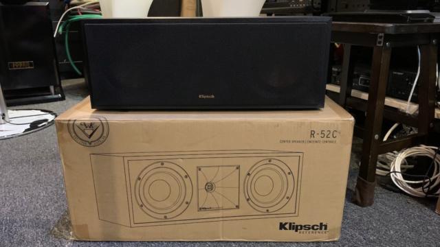Klipsch R-52C Center Speaker (Used) Img_3010