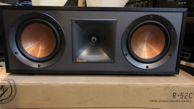 Klipsch R-52C Center Speaker (Used) Img_3011