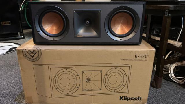 Klipsch R-52C Center Speaker (Used) Img_3012