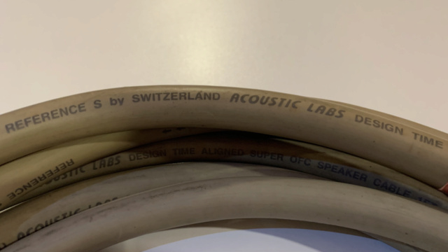 Acoustic Lab Reference S Speaker Cable 3m 1Pair (Used) Img_3015