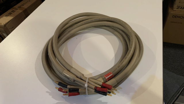 Acoustic Lab Reference S Speaker Cable 3m 1Pair (Used) Img_3017