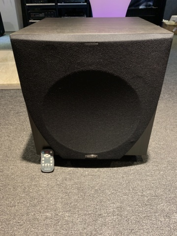 Velodyne EQ-Max 12 Subwoofer with remote control (used) SOLD Img_3113
