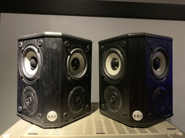 Wharfedale WH-2 Bipole Surround Speakers (Used) Img_3219