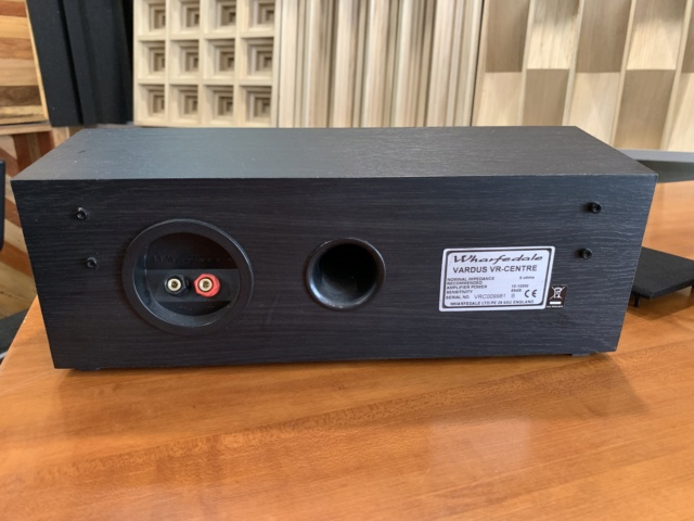Wharfedale Vardus VR-Center Center Speaker (Used)  Img_3224