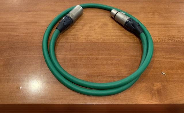Mcintosh XLR-XLR audio cable (1m) (Used) Img_3230