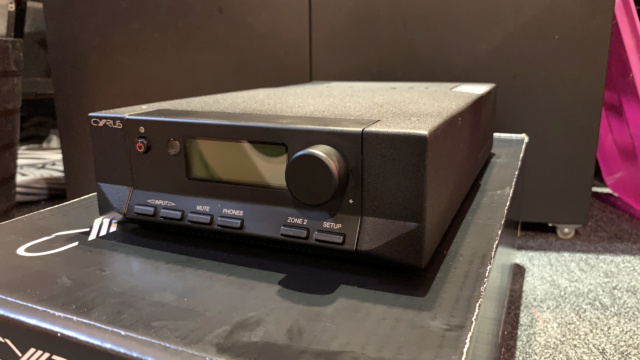 Cyrus 6 DAC Integrated Amplifier Full Set with Original Box (Used) Img_3314