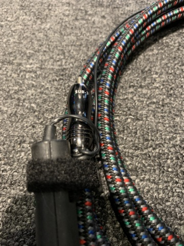 Audioquest SUB-3 Subwoofer Cable (3meter) (Used) SOLD Img_3510
