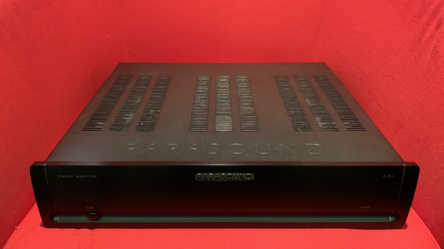 Parasound Halo A23+ Stereo Power Amplifier (6 month Warranty) (Used) Img_3532