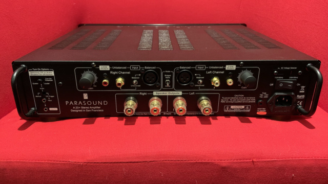 Parasound Halo A23+ Stereo Power Amplifier (6 month Warranty) (Used) Img_3534