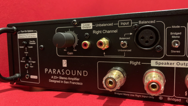 Parasound Halo A23+ Stereo Power Amplifier (6 month Warranty) (Used) Img_3535