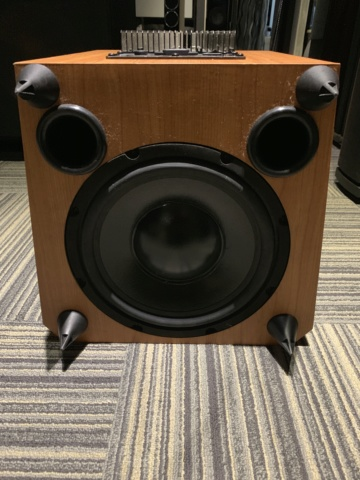 Wharfedale Vardus VR-Sub 10 Subwoofer (Used) Img_3619