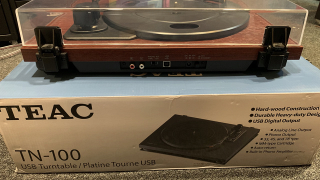 Teac TN-100 Belt-drive Turntable with USB output (Used) Img_3910
