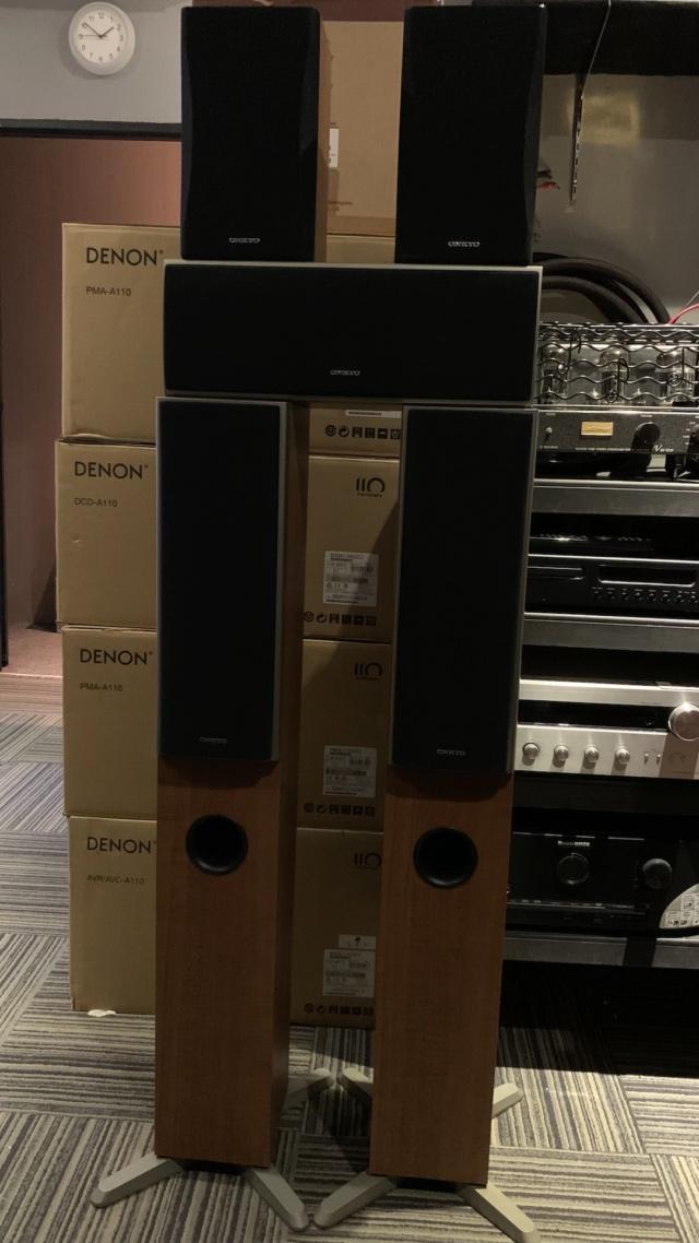 Onkyo SKF-4700 5.0 Speaker Package (Used) Img_3925