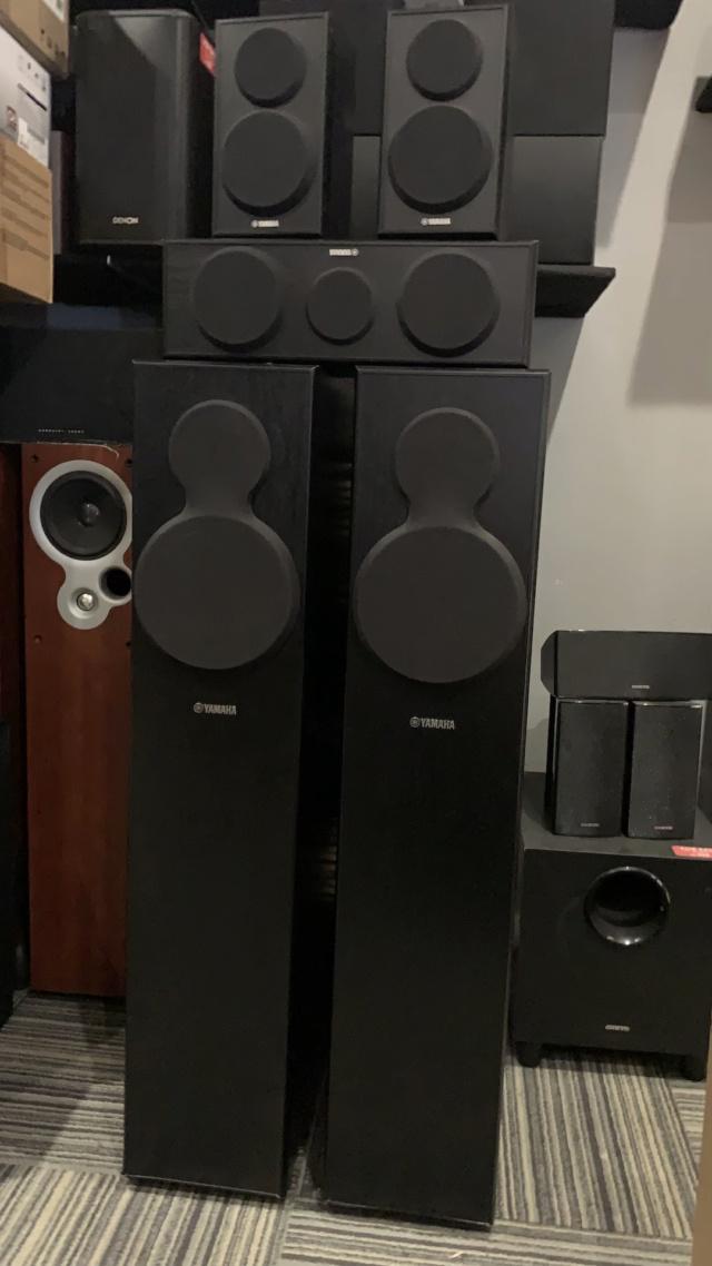 Yamaha NS-140 5.0 Speaker Package (Used) Img_3927