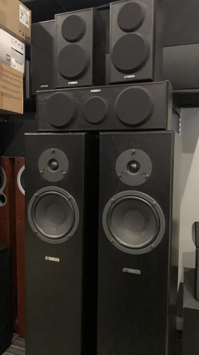 Yamaha NS-140 5.0 Speaker Package (Used) Img_3928