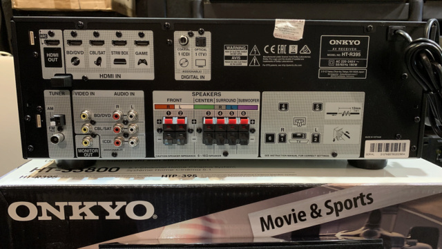 Onkyo HT-3800 5.1-Channel Home Theater Receiver/Speaker Package (Used) Img_4018