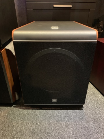 JBL ES250P 12-inch powered subwoofer (Used) SOLD Img_4411