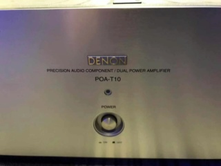 Denon POA-T10 2 ch Power Amplifier (Used) Img_4525