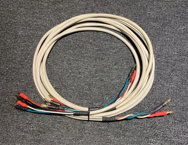 AudioQuest FLX-14/4 Speaker Cable (Used) Img_4711