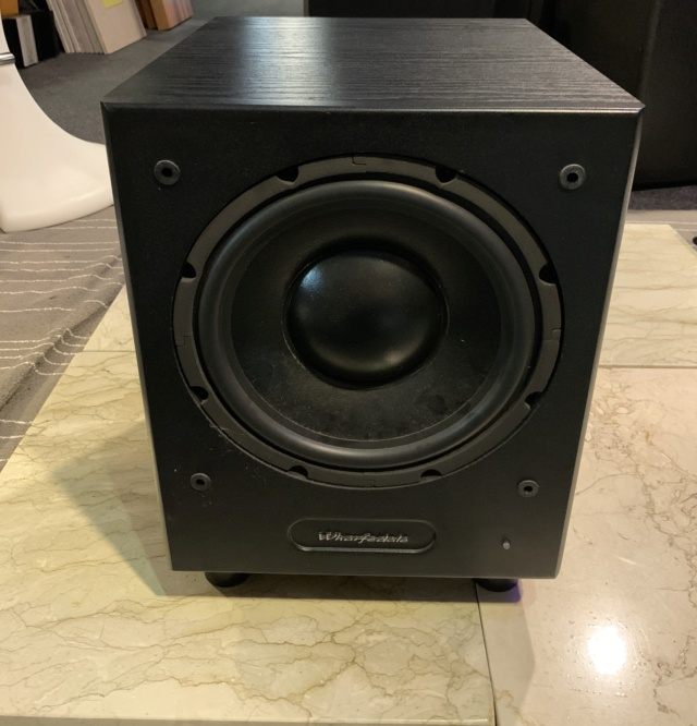 "Wharfedale WH-210 10"" Inch Subwoofer (Used) SOLD Img_5610"