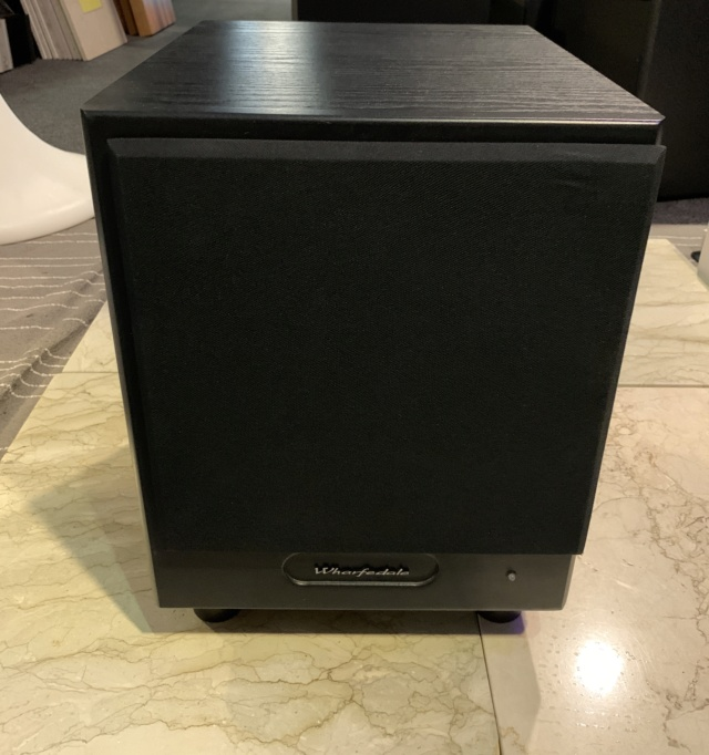 "Wharfedale WH-210 10"" Inch Subwoofer (Used) SOLD Img_5612"