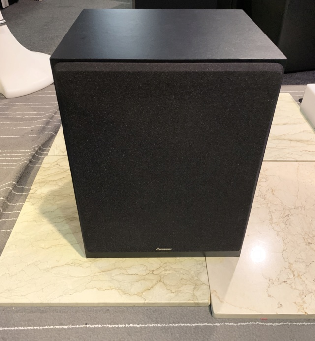 """Pioneer S-MS3SW 10"""" Inch Active Subwoofer (Used) Img_5615"""