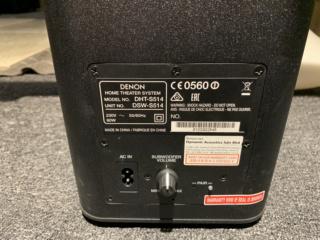 DENON DHT-S514 Soundbar System (Used) Img_6526