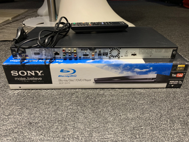 Sony BDP-S370 Blu-ray player with Box (Used) Img_7418
