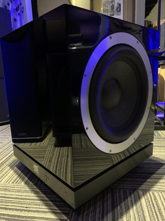 Bowers & Wilkins DB1 Dual 12inch Aerofoil-cone drive Subwoofer (Used) Img_7510