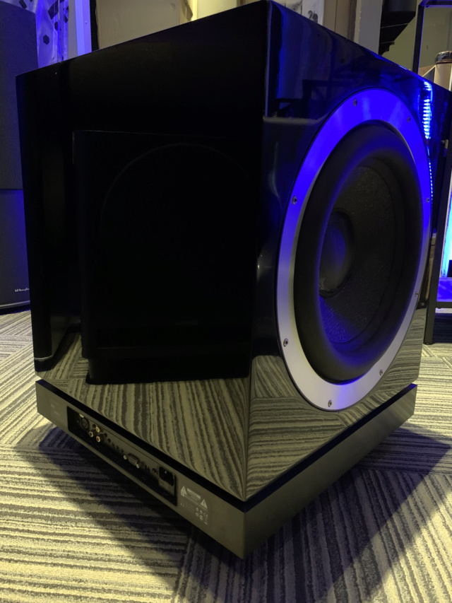 Bowers & Wilkins DB1 Dual 12inch Aerofoil-cone drive Subwoofer (Used) Img_7514