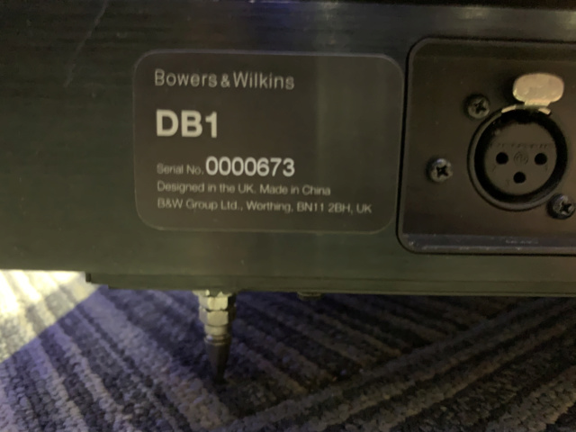 Bowers & Wilkins DB1 Dual 12inch Aerofoil-cone drive Subwoofer (Used) Img_7515