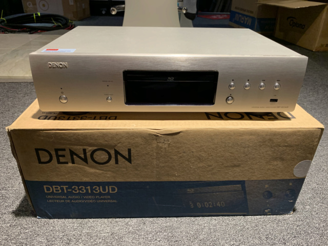 Denon DBT-3313 Universal Blu-ray Player with box full set (Used) Img_7519