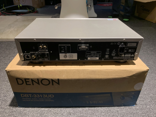 Denon DBT-3313 Universal Blu-ray Player with box full set (Used) Img_7520