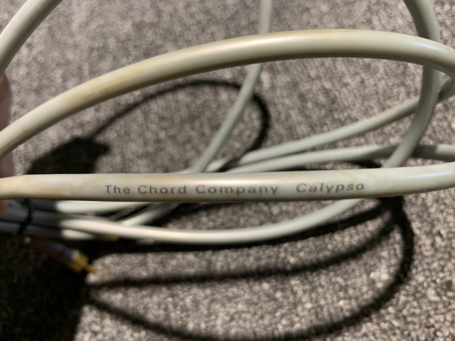 Chord Calypso Interconnect Cable 1m (Used) SOLD Img_7529
