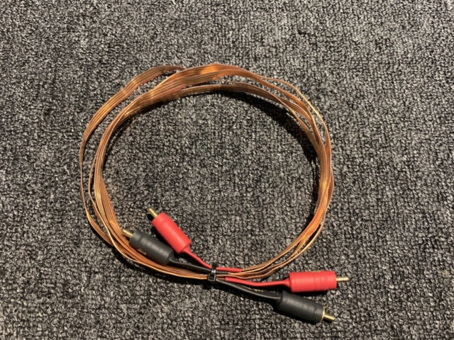Nordost Flatline Magic 1 Interconnect Cable (1m) (Used) Img_7612