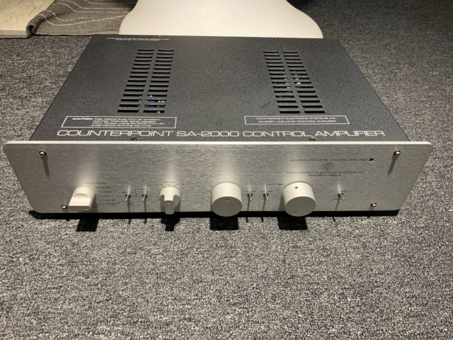 Counterpoint SA-2000 Tube Preamplifier (Used) Img_7622