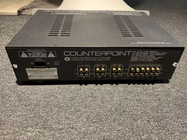 Counterpoint SA-2000 Tube Preamplifier (Used) Img_7624
