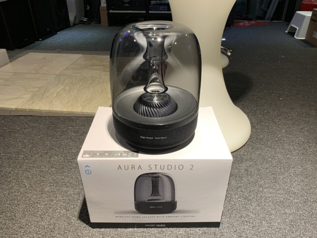 Harman Kardon AURA STUDIO 2 Wireless speaker with box full set (Used) Img_7633