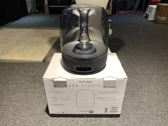 Harman Kardon AURA STUDIO 2 Wireless speaker with box full set (Used) Img_7634