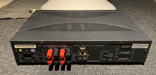 Arcam Alpha 10P Stereo Power Amplifier (Used) SOLD Img_8111