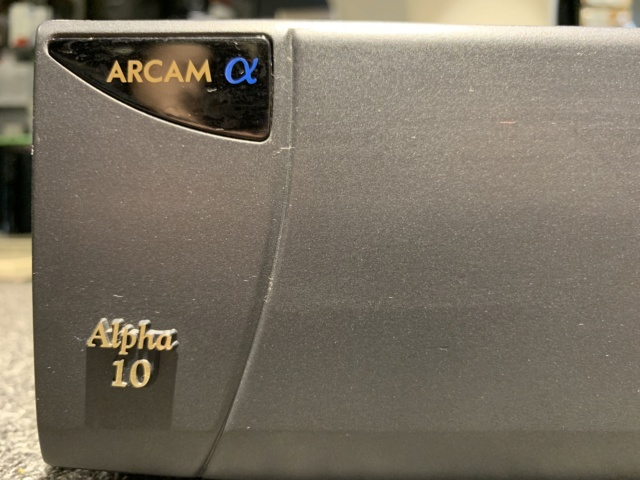 Arcam Alpha 10P Stereo Power Amplifier (Used) SOLD Img_8112