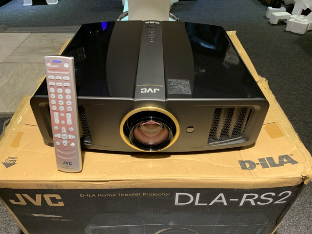 JVC DLA-RS2U Full HD Home Theater Projector With Original Box (Used) Img_8411