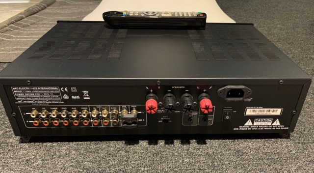 NAD C326BEE Stereo Integrated Amplifier (Used) Img_8415